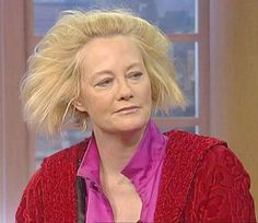 Celebrities have bad hair days, but in her case, I would have never gone out.