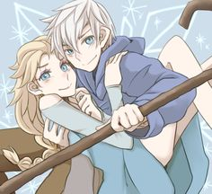 Jack and Elsa by 楓太