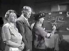 Ma & Pa Kettle misapply the principals of division and multiplication. Funny video for showing students common mistakes made when learning long division and multiplication.
