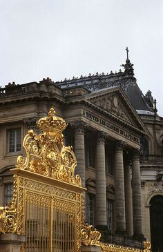 Palace of Versailles: pictures can't even capture the crazy opulence and beauty of this place.