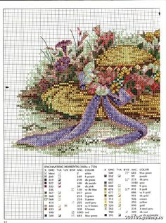 """Enchanting Moments"" cross stitch pattern by Paula Vaughan. Saved from elypetrova.gallery.ru"