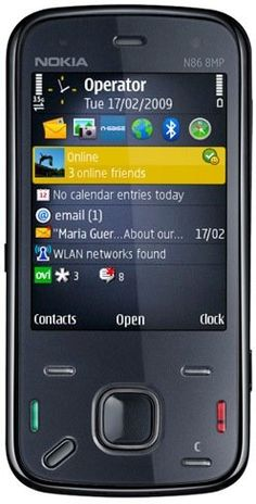 Nokia N 86 Phone 8 Mp Quadband Unlocked in Box | ($156.98)