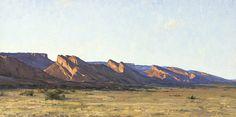 """West of Kayenta,"" Keith Bond, 18x36, oil on board"