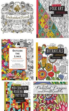 Calm yourself and go to your happy place by staying within the lines and coloring! Here are some of my favorite sophisticated and fun coloring books and markers for kids and adults of all ages!