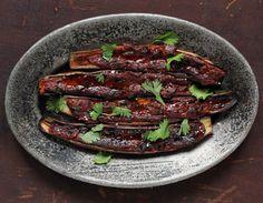 BBQ Eggplant w. Miso