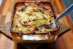 Gratin di patate, finocchio e acciughe, Ricetta Petitchef
