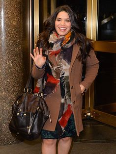 From Hollywood to New York and everywhere in between, see what your favorite stars are up to! Thursday, Wednesday, Short Girl Fashion, America Ferrera, Star Track, January 7, Super Star, Short Girls, Brown Boots