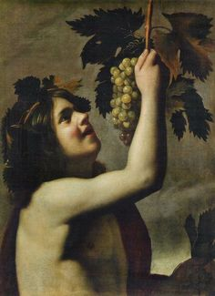 Tommaso Salini, The Young Bacchus - Oil on canvas, 67 x 49 cm Private collection.