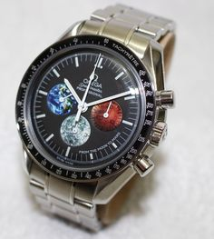 Omega Speedmaster professional Moon to Mars chronograph - men's watch - 2000's - Catawiki