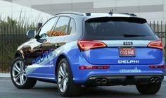 """Voiture autonome : le """"coast to coast"""" de Delphi"""