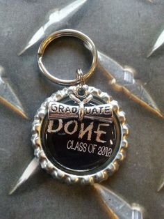 Blowout Sale - ON SALE NOW  2013 Graduation Keychain  Done Class by tracikennedy, $3.75
