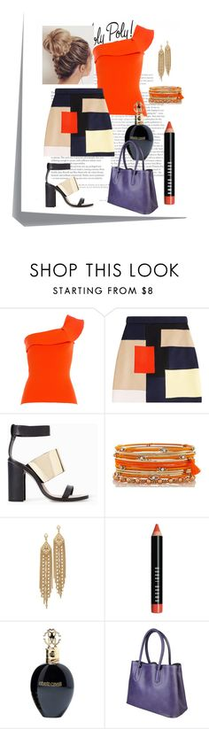 """Beautiful skirts"" by madcar-2013 ❤ liked on Polyvore featuring Post-It, Roland Mouret, MSGM, Zara, Capwell + Co, Bobbi Brown Cosmetics and Roberto Cavalli"