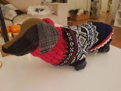 Dachshund Marius sweater Dachshund, Winter Hats, Sweaters, Fashion, Moda, Dachshunds, Fashion Styles, Weiner Dogs, Pullover