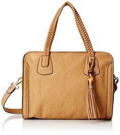 Women's Cross-Body Handbags - Big BUDDHA Sage Cross Body Camel One Size * Want to know more, click on the image.