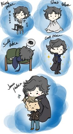 The Many Palaces of Sherlock Holmes (I am going to cry)