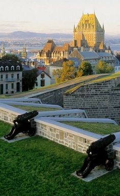 "Le Citadelle.  ""Now, that's what we call cannons."""