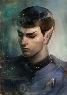 Spock by len_yan on tumblr.
