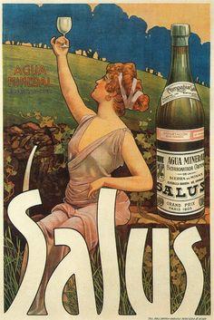 Recuerda conmigo: Publicidad 5 - 42 carteles Vintage Ads, Vintage Posters, Vintage Prints, Art Nouveau, Agua Mineral, Vintage Graphic Design, Ad Art, Montevideo, You Are Awesome