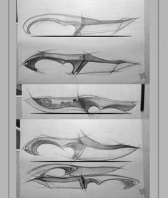 Survival camping tips Cool Knives, Knives And Swords, Forging Knives, Knife Drawing, Knife Template, Knife Patterns, Cane Handles, Object Drawing, Patent Drawing