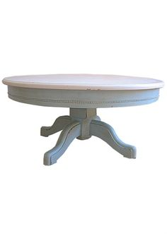 bradshaw kirchofer round coffee table Would like this design for dining table