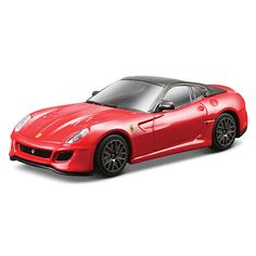 Bburago Ferrari Series Race and Play 1:43 Scale Die-Cast Car - Red 599 GTO $9.99  #TopRevews