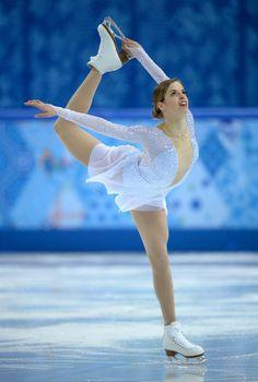 ソチオリンピック Yahoo! JAPAN - フィギュア女子SPで3位のコストナー、ソチ五輪(AFP=時事)