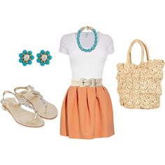 Ahhh, fantastic color combo and I love how the simple top balances out the bubbly skirt.