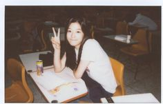 """A photo of Jun Ji Hyun during her college years has been released. A photo of Jun Ji Hyun during her college years has been released. An online community on April 28 shared a post with the title, """"Jun Ji Hyun during her college years,"""" along with a photo. Aesthetic Japan, Aesthetic People, Retro Aesthetic, Arte 8 Bits, Jun Ji Hyun, Film Images, Sassy Girl, Human Poses, Korean Actresses"""