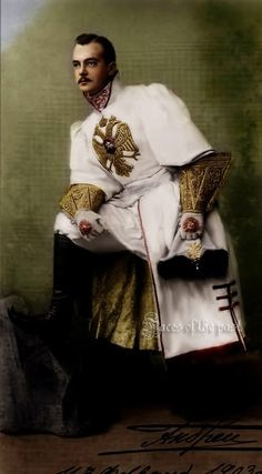 Andrei Vladimirovich at the Winter Palace Costume Ball of 1903.