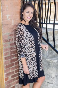 When your crush sees you in this leopard cardigan, they are going to be ready to…