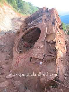 Vietnam War Tank discovered on the Ho Chi Minh Trail in Laos