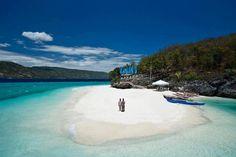 Amazing beach, Bluewater Sumilon Island Resort in Oslob, Cebu