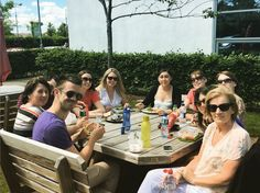 Some of the gang having lunch al fresco today  #LifeAtWLR #Waterford #Ireland #sun #CostaDelWaterford #lunch #picnic