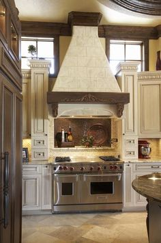 Like this alcove above the stove.