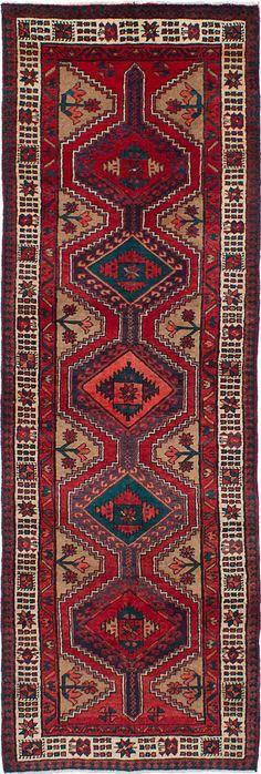 "Ardabil Persian Rug - 3'4"" x 10'1"" Sale Price: $476.17  #oldcarpet #persianrug #orientalrug #rug #persiancarpet #carpet #qualityrug #ardabilrug #ardabil #art #love #beauty #loveit"