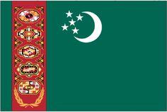 Turkmenistan Flag - Fly-Me Flag