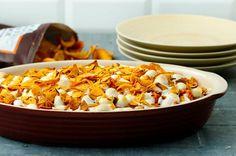 Sweet Potato Casserole with Marshmallows #sweetpotato #recipes #chips #crackers #casserole
