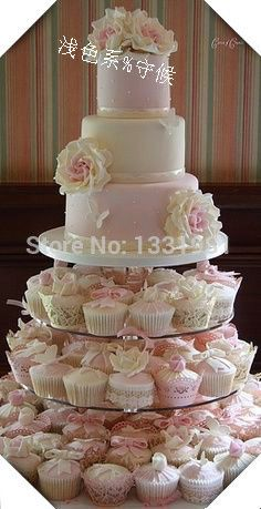 4 Tier Round Maypole Acrylic Cupcake Stand, 4 Tier Round Perspex Wedding Cake Stand, 4 Tier Round Plexiglass Cupcake Stand-in Stands from Home & Garden on Aliexpress.com | Alibaba Group