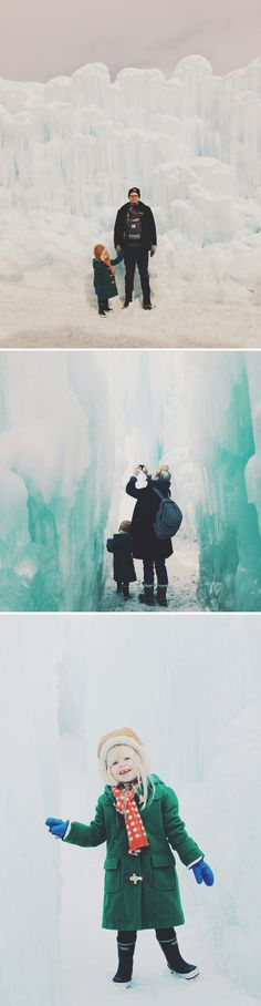The Midway Ice Castles