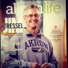 Coach T is Akron Ohio's now!