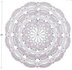 Crochet mandala cushion circles 31 Ideas for 2020 Motif Mandala Crochet, Crochet Doily Diagram, Crochet Circles, Crochet Stitches Patterns, Crochet Squares, Thread Crochet, Crochet Doilies, Crochet Flowers, Diy Crafts Crochet