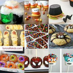 12  Cute and Fun Halloween Treats