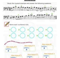 1000 images about accidentals on pinterest music worksheets worksheets and flats. Black Bedroom Furniture Sets. Home Design Ideas