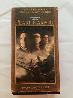 Pearl Harbor (VHS, 2001, 2-Tape Set, Pan & Scan; 60th Anniversary) Ben Affleck in DVDs & Movies, VHS Tapes | eBay