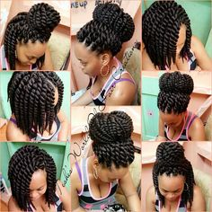 "Crochet Mambo Twists - 12"" (6 packs of hair)"