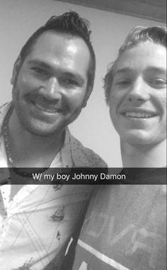 Text my son to see how he's doing at a basketball tourn. He sends this...pic w/Johnny Damon! Many Thanks to him & his family!