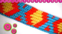 *Monedero estilo Wayuu* *Monedero estilo Wayuu part  *Monedero estilo Wayuu part  *Monedero estilo Wayuu part  hilo crochet,o hobby aguja N° 5 . Tapestry Crochet Patterns, Crochet Stitches, Crochet Videos, Bunt, Loom, Purses And Bags, Weaving, Tapestries, Embroidery