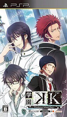 Gakuen K -Wonderful School Days- Regular Edition With CDJapan Exclusive Bonus Game Playstation Portable