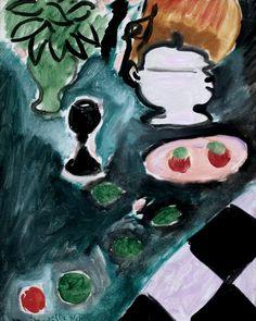 Henri Matisse. 1869-1954. Paris. Nature morte à Max Pellequer. Still Life for Max Pellequer. 1941. Cologne. Musée Ludwig.