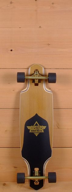"""Dusters Prebuilt 34"""" Channel Gold Longboard"""